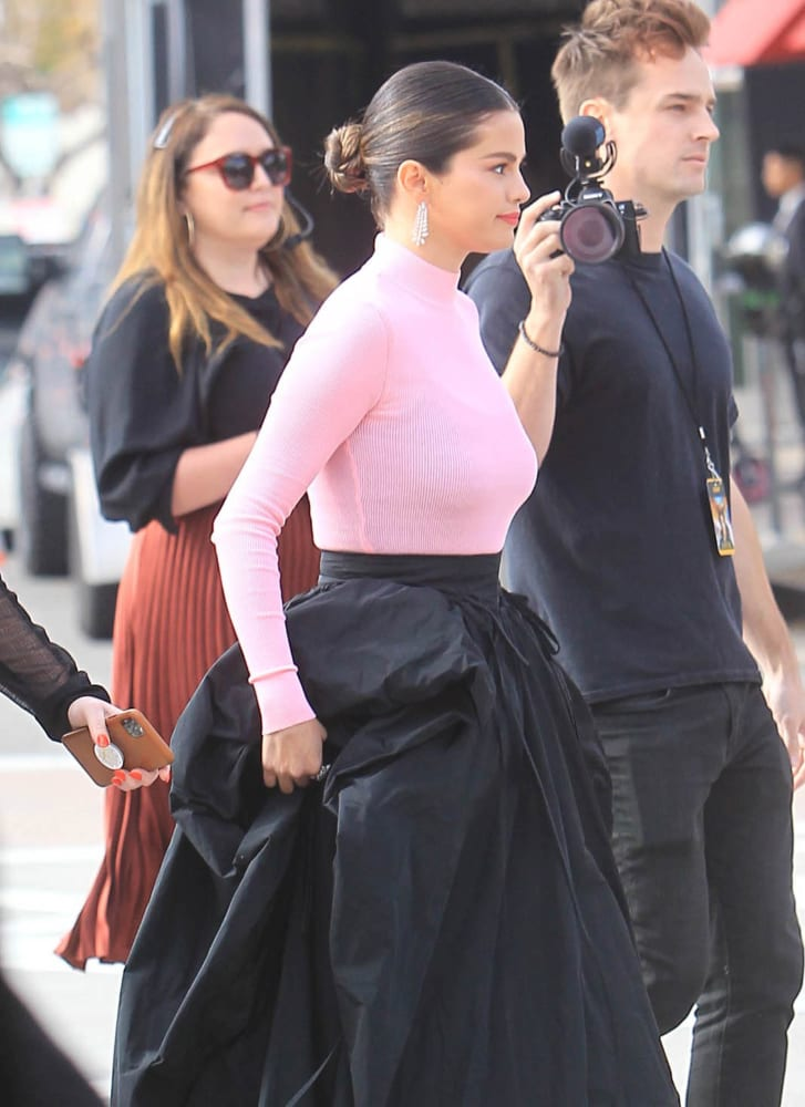 Selena Gomez awal tahun ini di Los Angeles