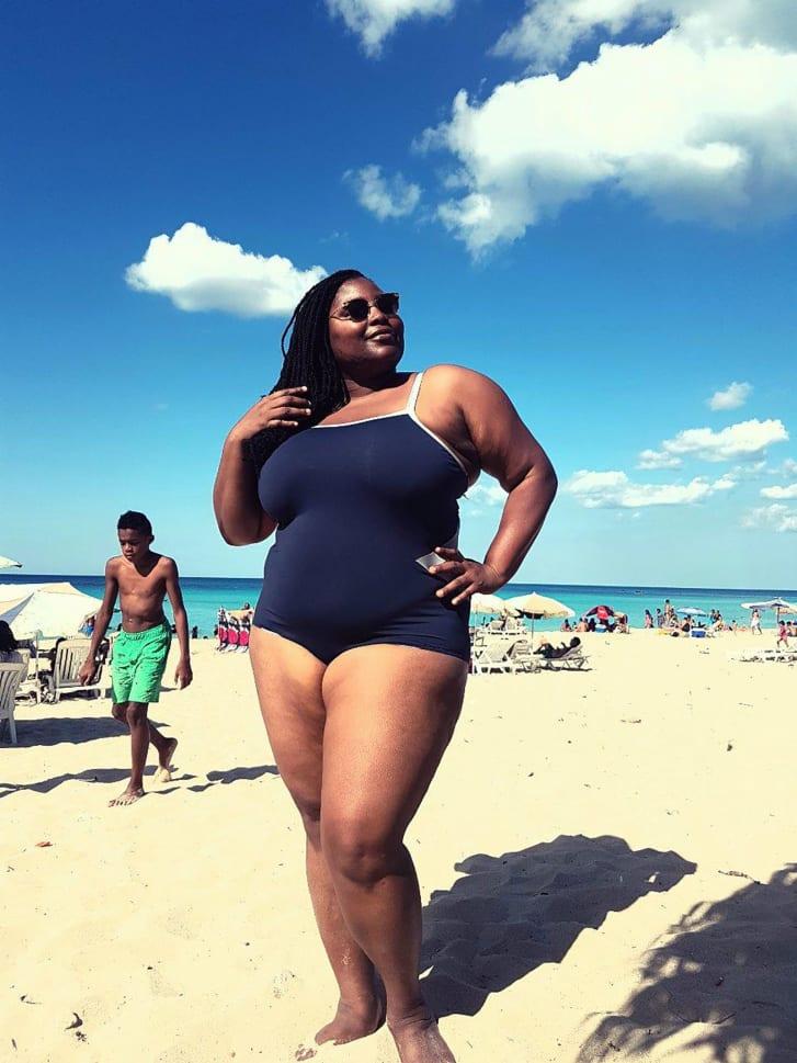 La imagen de Wana Udobang en una playa de Cuba que se volvió viral
