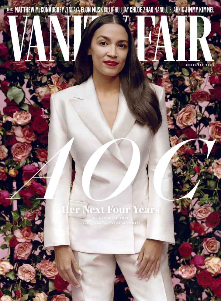 The December issue of Vanity Fair magazine.