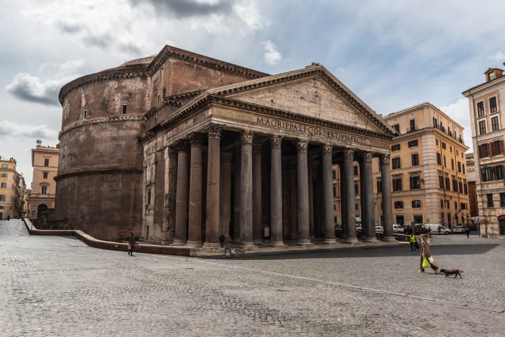 The Pantheon may have been used for a variety of purposes, but historians aren't quite sure what took place inside.