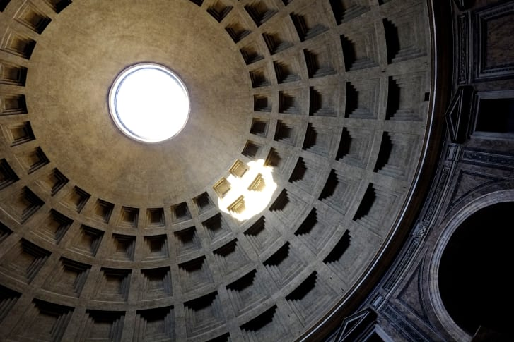 The Pantheon's dome and oculus were a feat of engineering -- Medieval religious leaders believed the architectural achievement was evil.