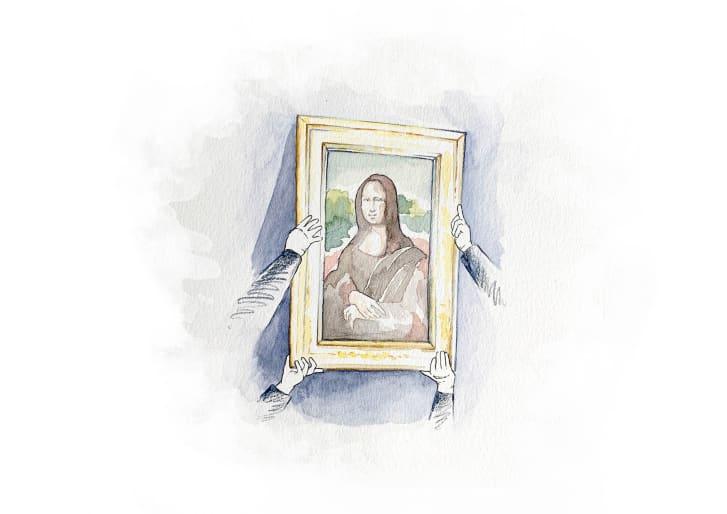 L'illustratrice Heloise Becker ha prodotto una serie di pezzi per accompagnare l'annuncio dell'asta.