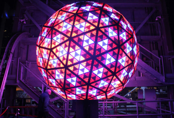 The Times Square Ball has had seven different designs.