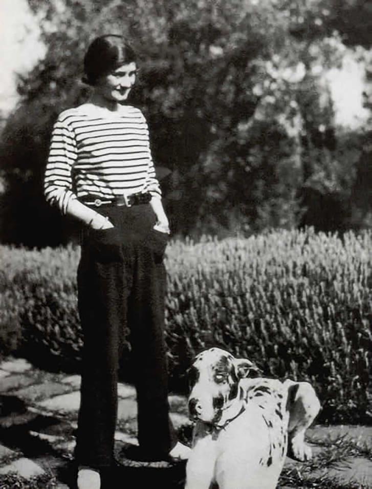Chanel turned stripes into fashion.