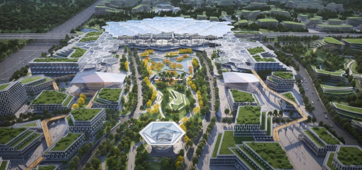 GMP's design includes an overhaul of an existing transit hub.