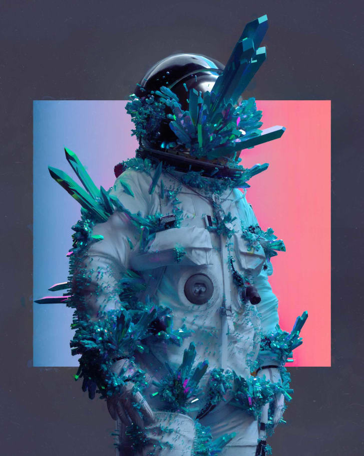 Beeple, whose real name is Mike Winkelmann, took one photo per day for 13 years.