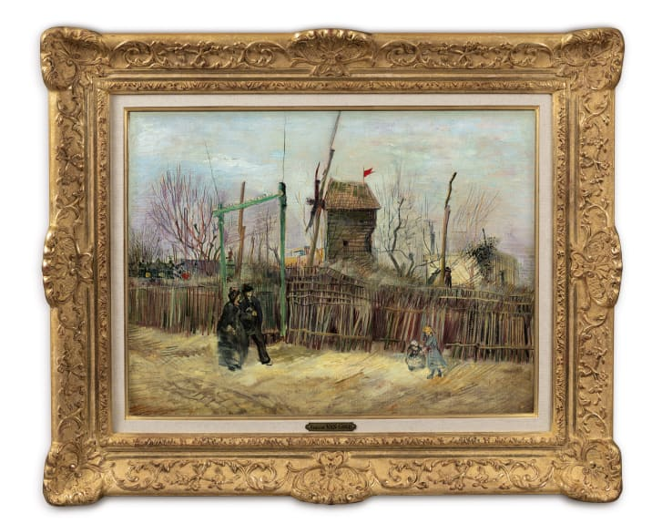 The painting is expected to bring in close to $10 million.