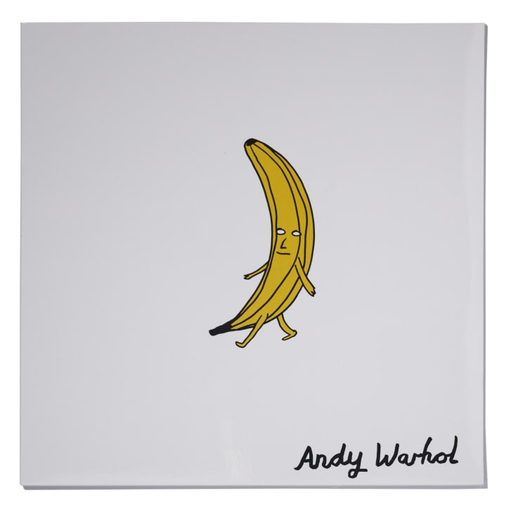 For the 45th anniversary of The Velvet Underground  Nico in 2012 British artist David Shrigley illustrated a special edition  reissue cover for Castle Face Records