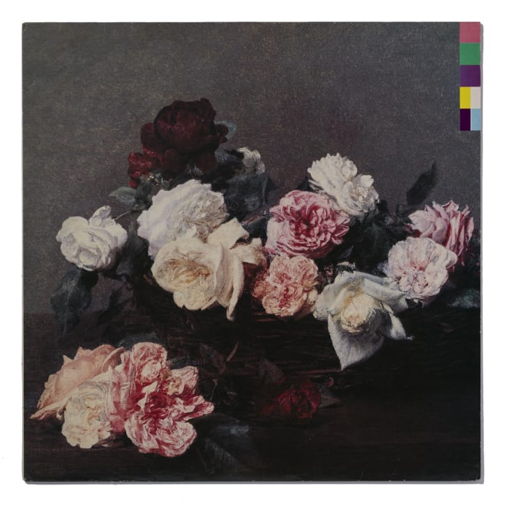New Order Power Corruption  Lies Featuring A Basket of Roses by Henri Fantin-Latour 1890