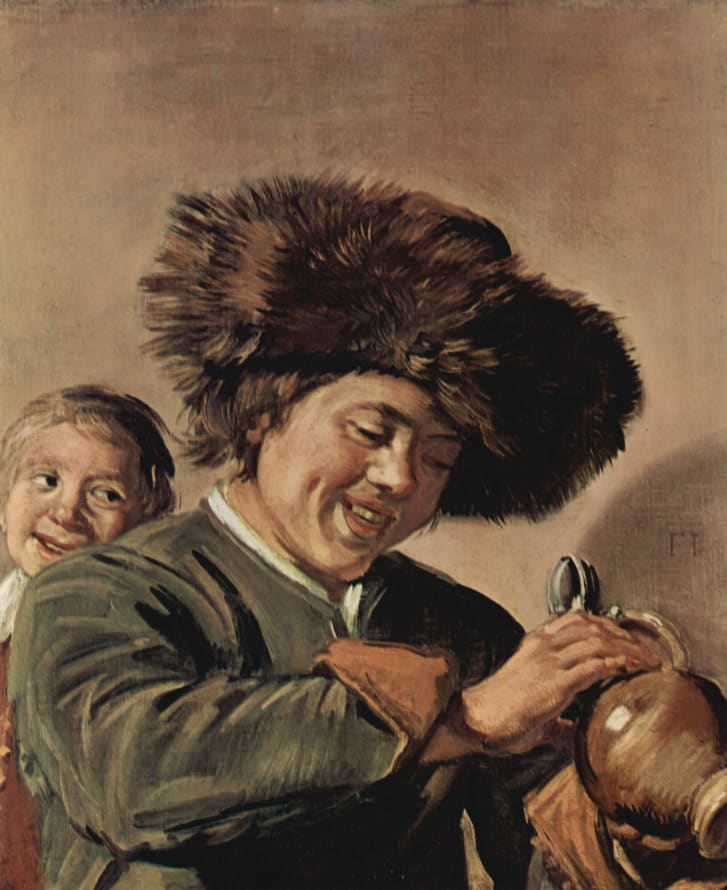 """""""Two Laughing Boys"""" by Frans Hals has been stolen twice before, once from the Leerdam Museum in May 2011."""