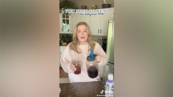 Emma Carter in the TikTok that started it all