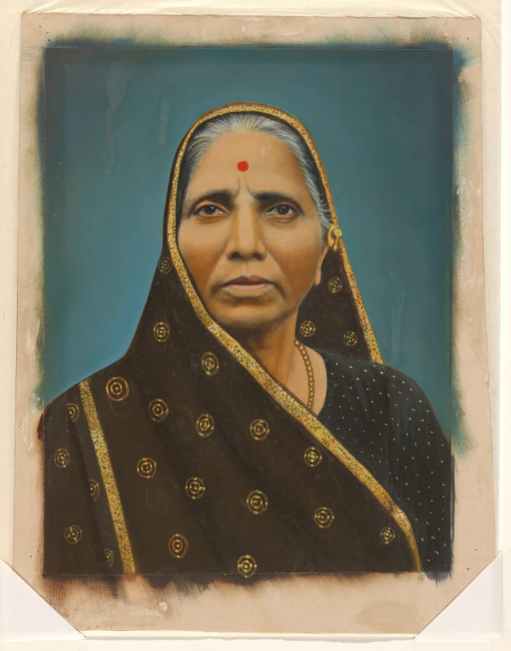 An untitled portrait of a woman, purchased from Subhash Kapoor's gallery in 2009, is among the items being returned.