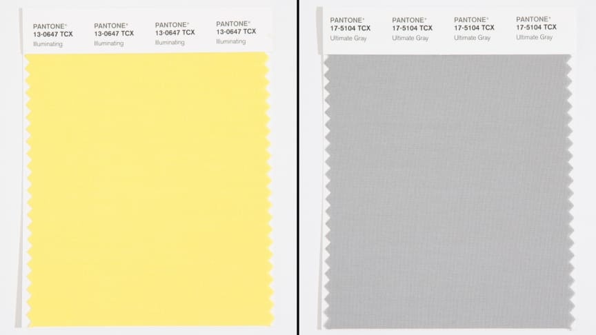 pantone color of the year 2021 color swatches