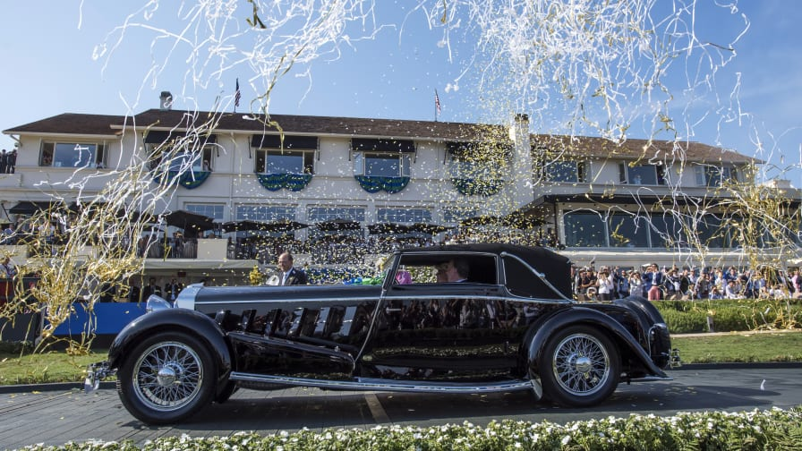 the world s most elegant cars at pebble beach cnn style