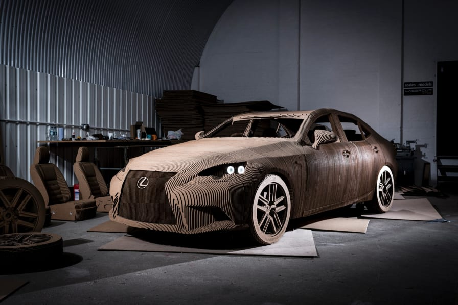 Discover The Drivable Origami Inspired Car
