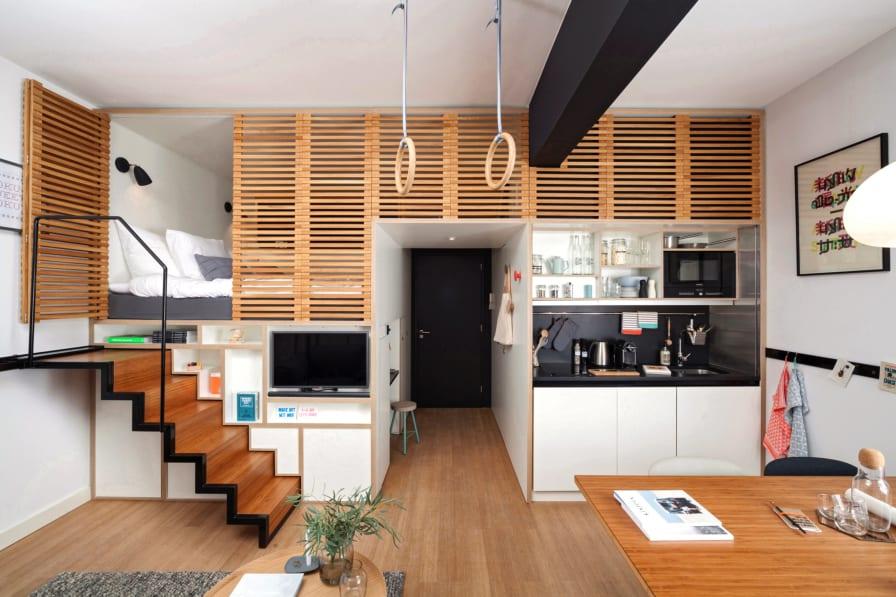 Think big: Ingenious micro homes from around the world - CNN Style on tiny portable homes, tiny bedroom, tiny log homes, small box type house designs, tiny plans, loft small house designs, tiny room design ideas, tiny custom homes, tiny homes with staircases, tiny interior design, tiny homes inside and outside, tiny house, tiny kit homes, tiny prefab homes, mini bungalow house plans designs, tiny books, tiny compact homes, tiny fashion, tiny modular homes, tiny art,