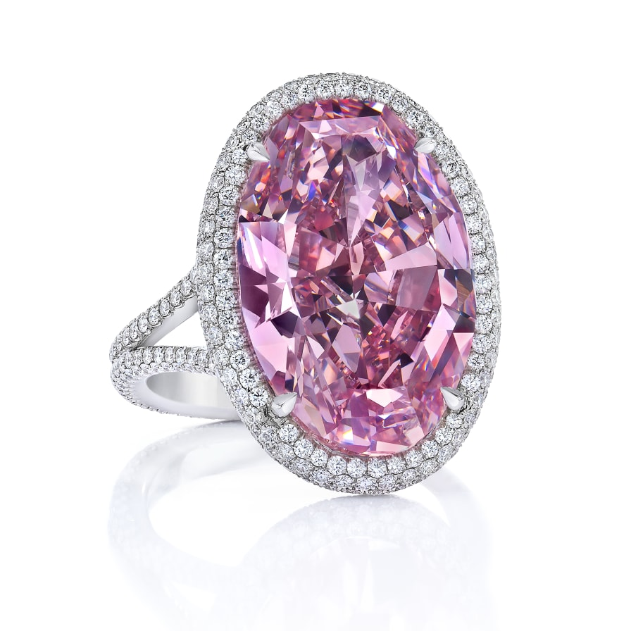 Recut pink diamond soars in value to over $32 million - CNN Style