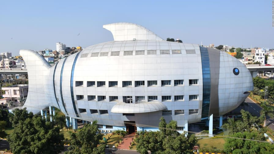 mimetic architecture why does this building look like a fish cnn