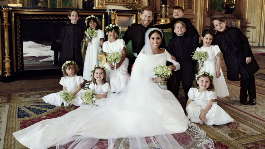 Royal Wedding Official Portraits