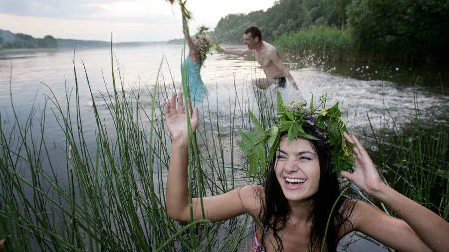 midsummer belarus swimming