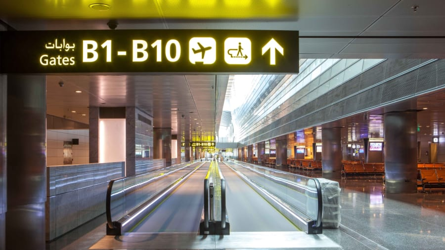 concourse hamad international airport doha