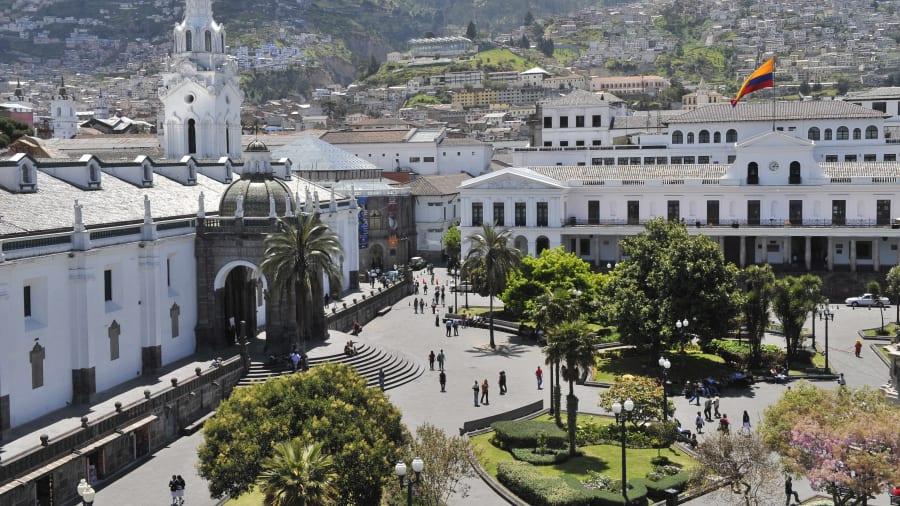 UNESCO World Heritage Site - Quito, Ecuador