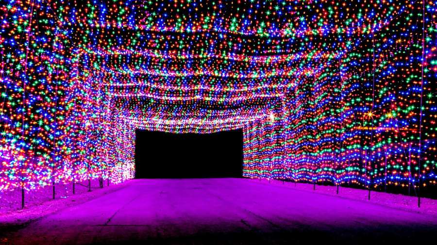 8 best usa christmas lights las vegas - Where To Go See Christmas Lights
