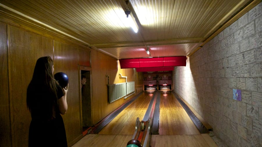 Old School Bowling Alleys Holler House