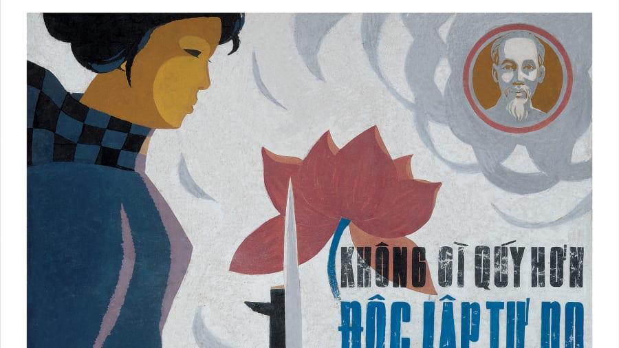 Vietnam Propaganda Posters Give Glimpse Of Life In War