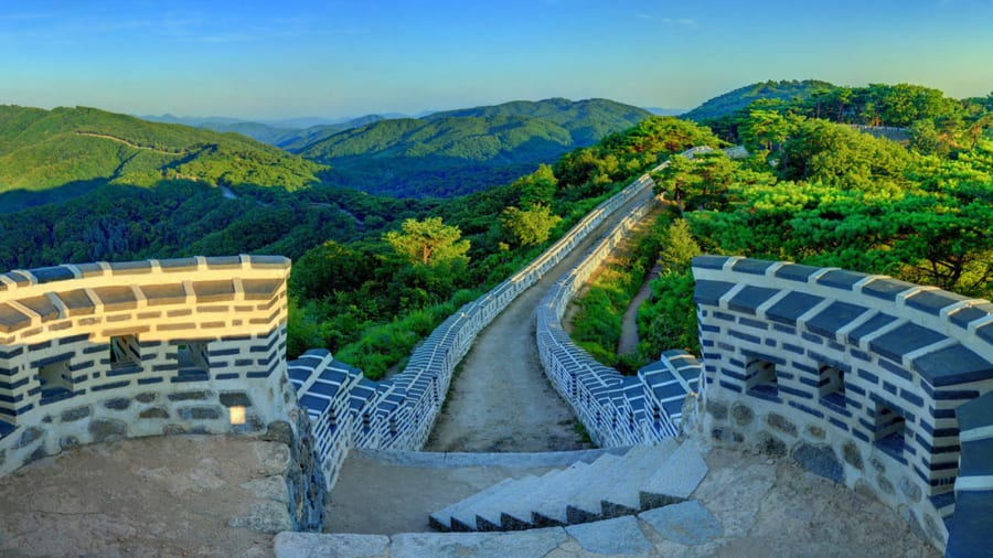 Beautiful South Korea Namhansanseong Fortress