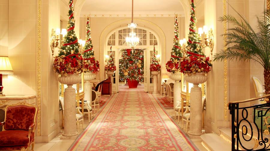 christmas hotels ritz london - Nyc Restaurants Open Christmas Day