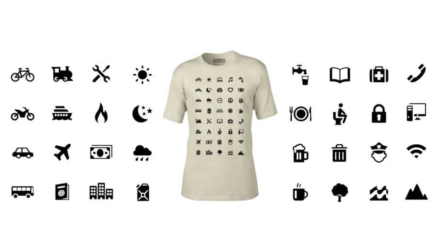Symbols On T Shirt Help Wearer Overcome Language Barriers Cnn Travel