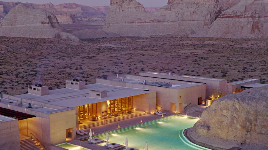 Us Beautiful Hotels 3 Amangiri 1