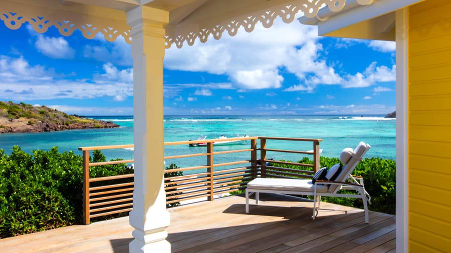 Beachfront Hotel 2 Le Guanahani