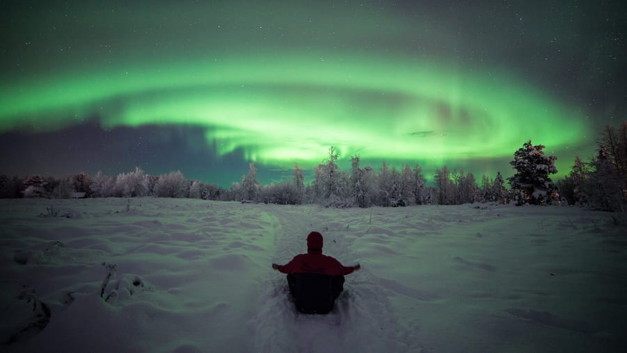 Captivating Best Northern Lights Muonio Finland2 Great Ideas