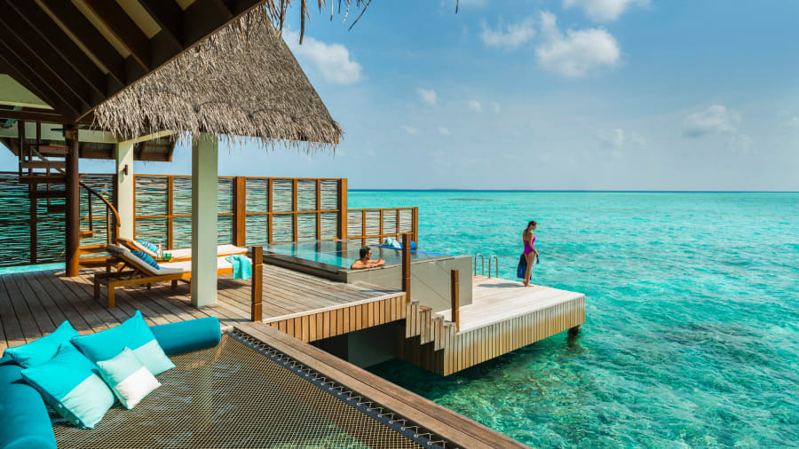 Honeymoon Hotel Four Seasons Maldives