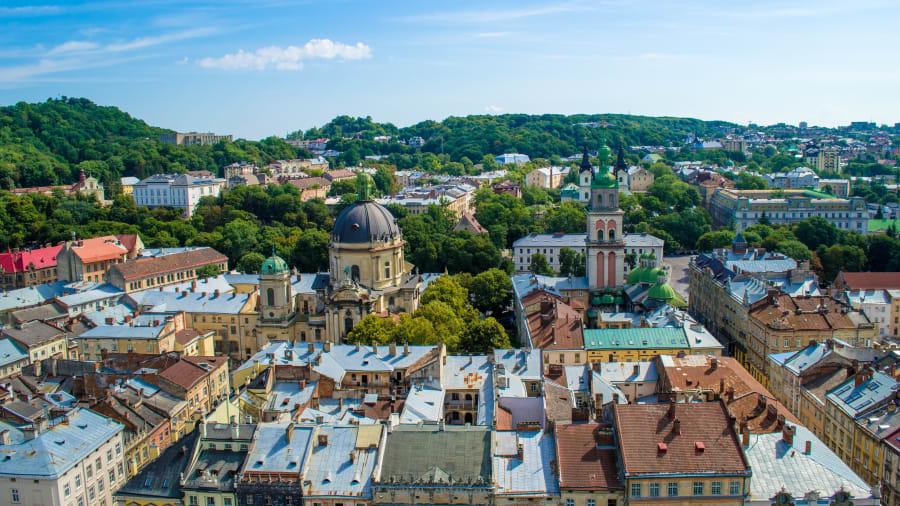Ukraine Best Places Lviv Old Town