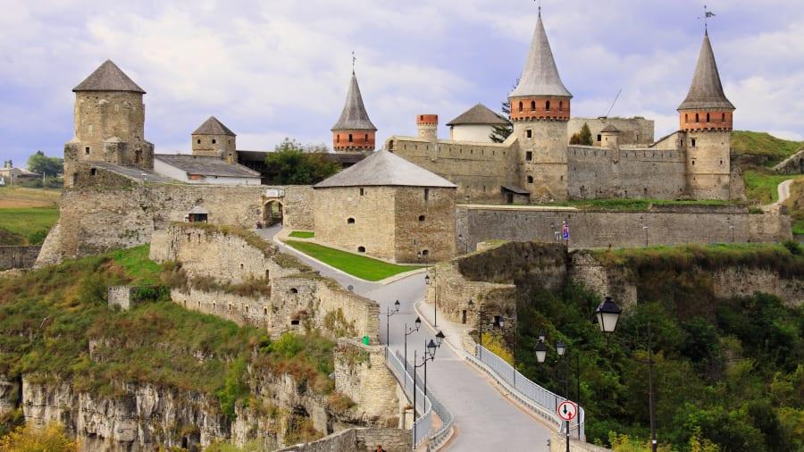 Kamianets-Podilskyi fortress, Ukraine