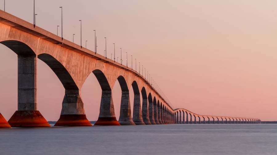 19. PEI confederation bridge.