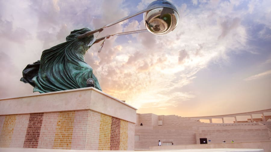 Best of Qatar Katara Landmark