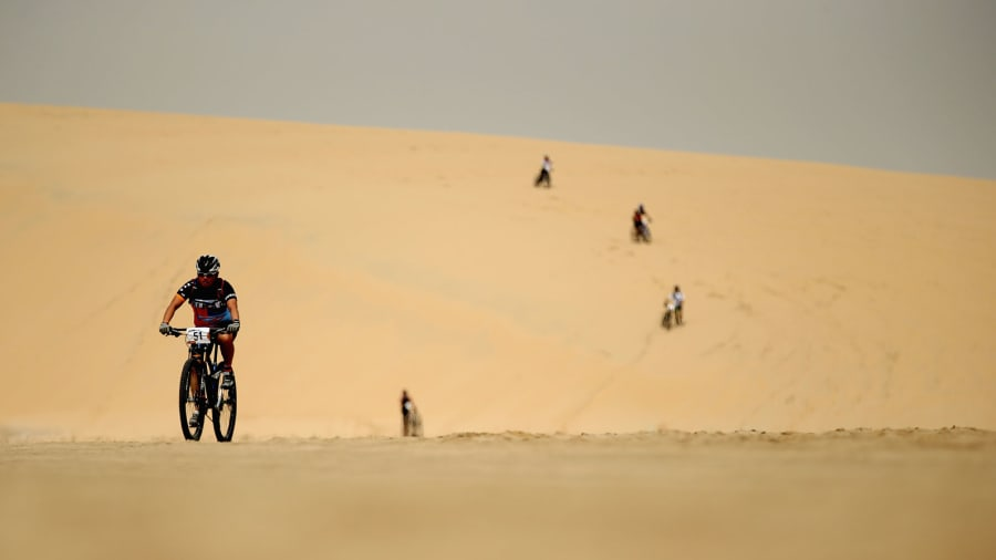 Best of Qatar desert bikes