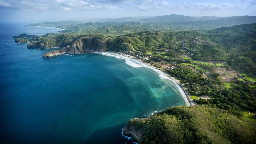 Nicaragua Emerald Coast Mukul Aerial