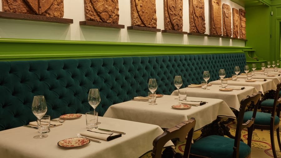 inside gucci s first restaurant cnn travel