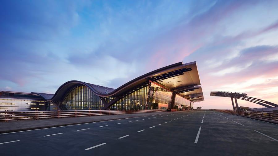 HIA-Passenger-Terminal-At-Sunset