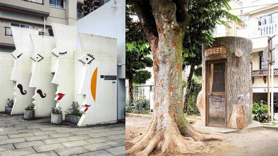 Photographer captures wacky Japanese public bathrooms | CNN Travel