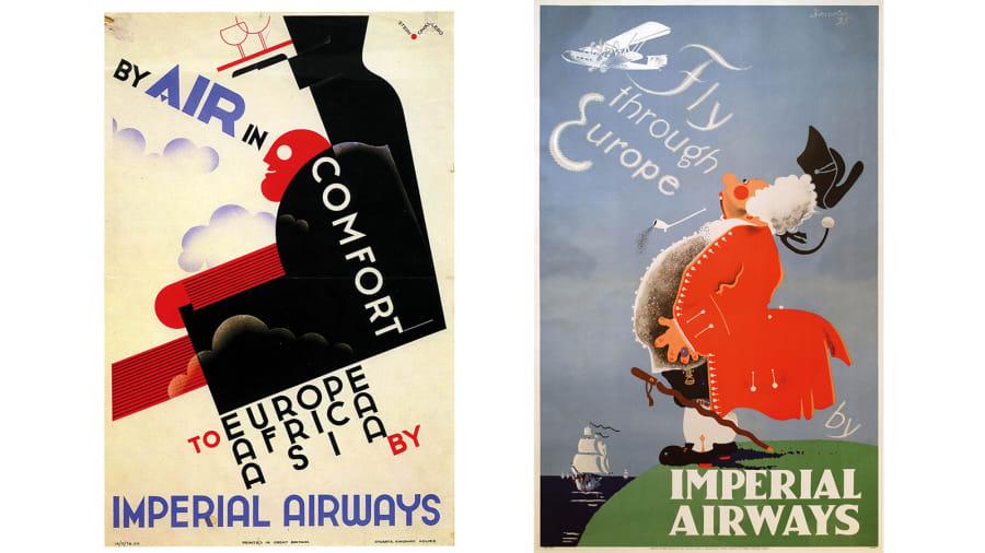 British Airways Vintage Posters 2