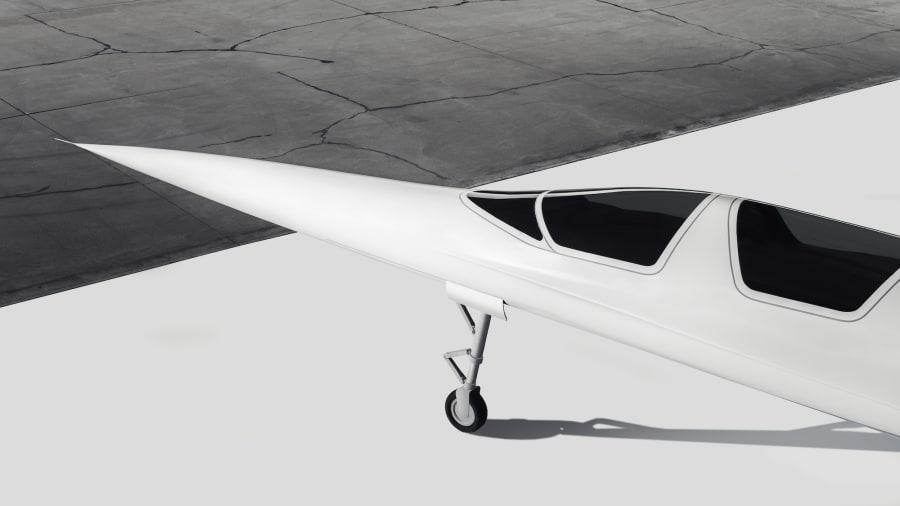 Boom Supersonic - design