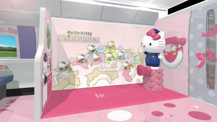 Asyik! Shinkansen 'Hello Kitty' Bakal Meluncur di Jepang Akhir Juni