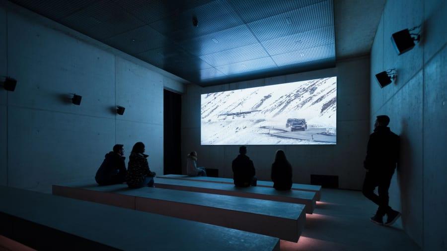 Bond museum.-Screening-Room