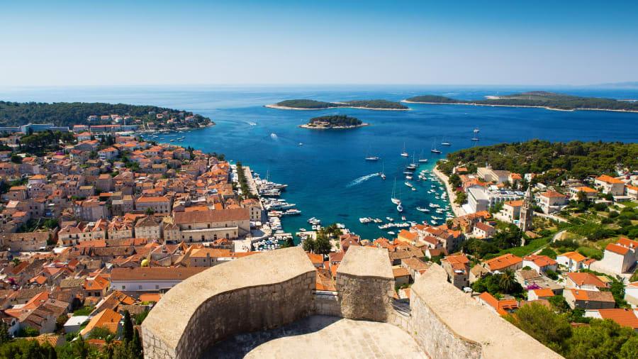 13 costas espetaculares - Costa da Dalmácia